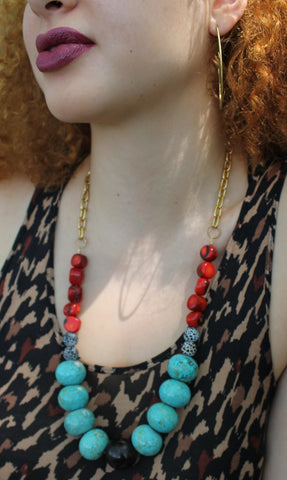 Bold Diosa Necklace