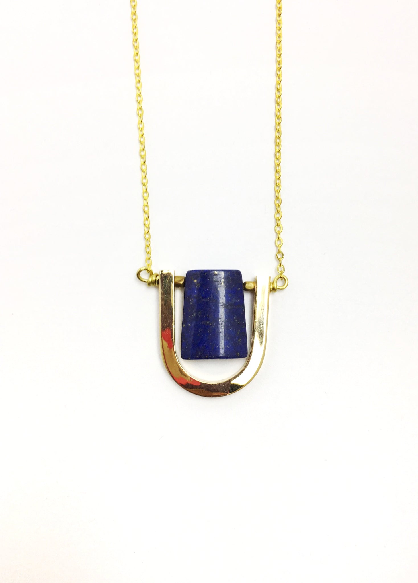 The Luni Lapis Necklace