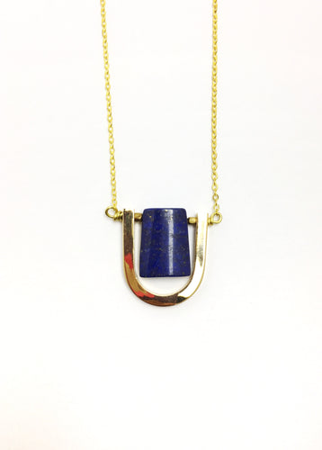 The Luni Lapis Necklace - Luni