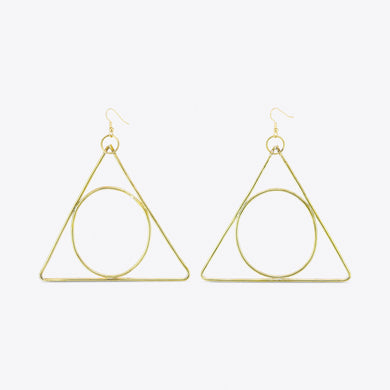 Alchemy Triangle Earrings - Luni