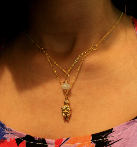 Venus of Willendorf Necklace