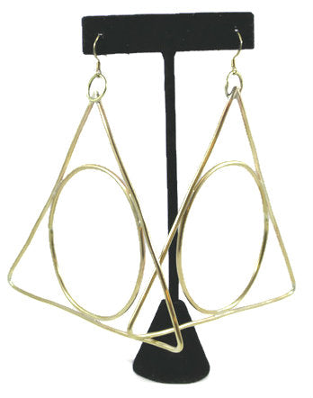 Alchemy Triangle Earrings