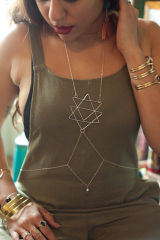 Sacred Triangle Body Chain