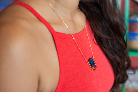 Luni Lapis Necklace