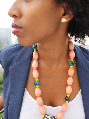 Colorful Queen Necklace