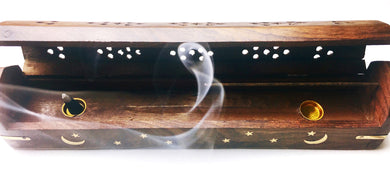 Celestial Incense Burner Box - Luni
