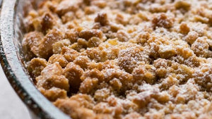 Warming Apple Crumble