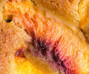 Olive Oil Cake with Peaches (Gluten-Free)
