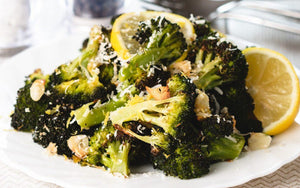Roasted Broccoli with Lemon and Garlic