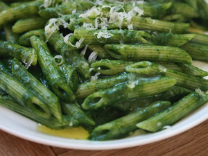 Jody & Alex's Green Love Pasta