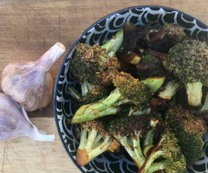 Pan-fried Garlic and Broccoli