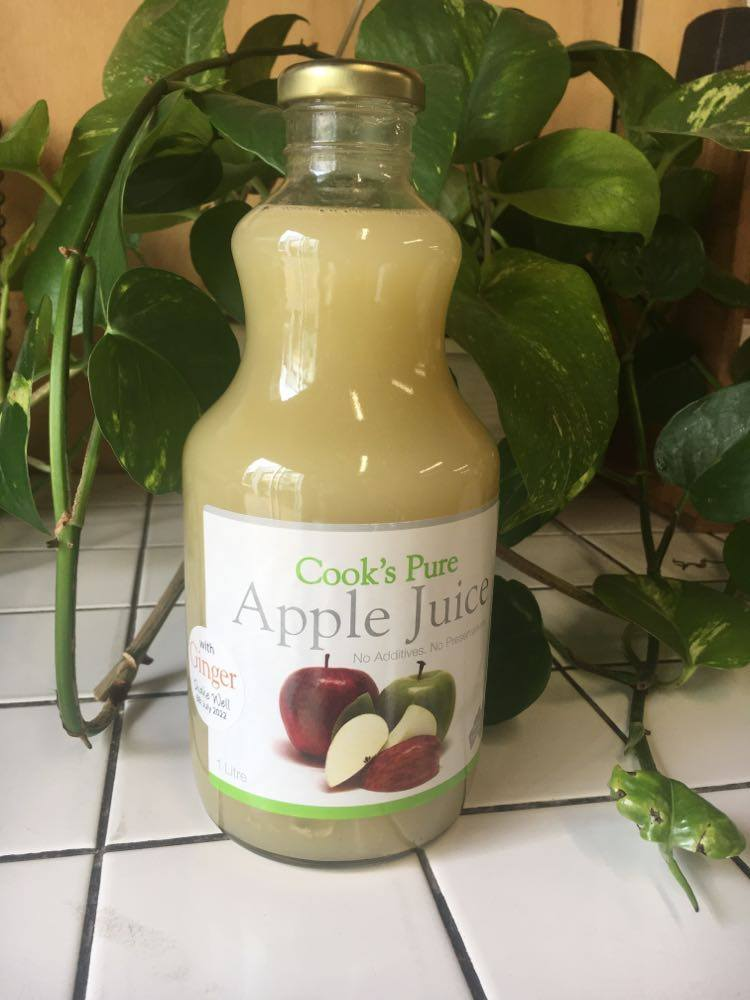 Juice, Apple & Ginger - 1L