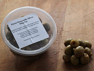 Olives, Pitted Green - 300g