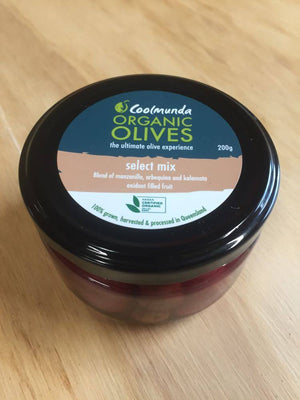 Olives, Select Mix - 200g