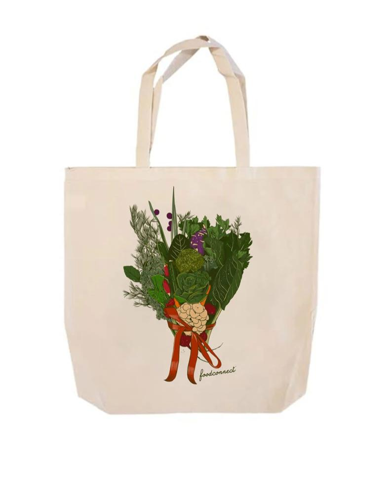 Food Connect Tote Bag