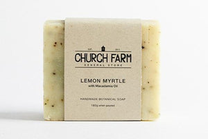 Soap, Lemon Myrtle with Macadamia Oil