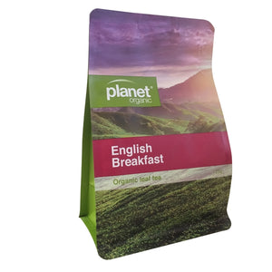 Planet Organic Organic English Breakfast Loose Leaf Tea 125g