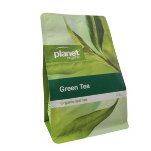 Planet Organic Organic Green Tea Loose Leaf 125g