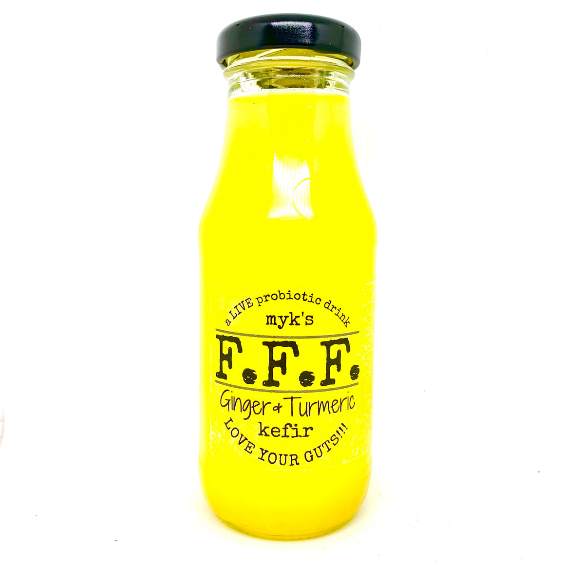 Kefir, Myk's Ginger and Turmeric - 750mL