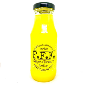 Kefir, Myk's Ginger and Turmeric - 200mL