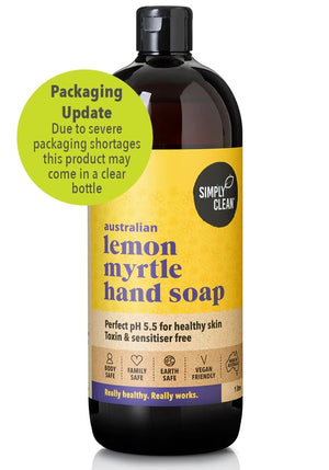 Hand Soap, Lemon Myrtle - 1L