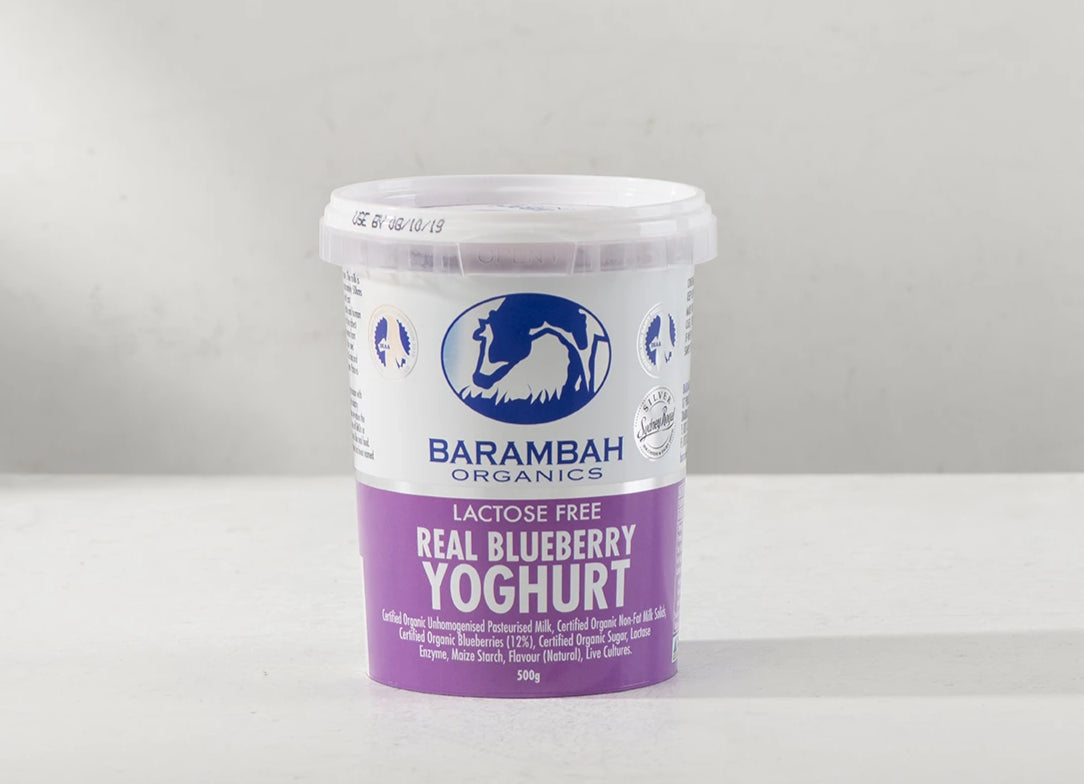 Yoghurt, Blueberry - 500g