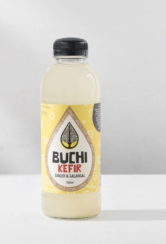 Kefir, Buchi Ginger and Galangal Water - 500mL