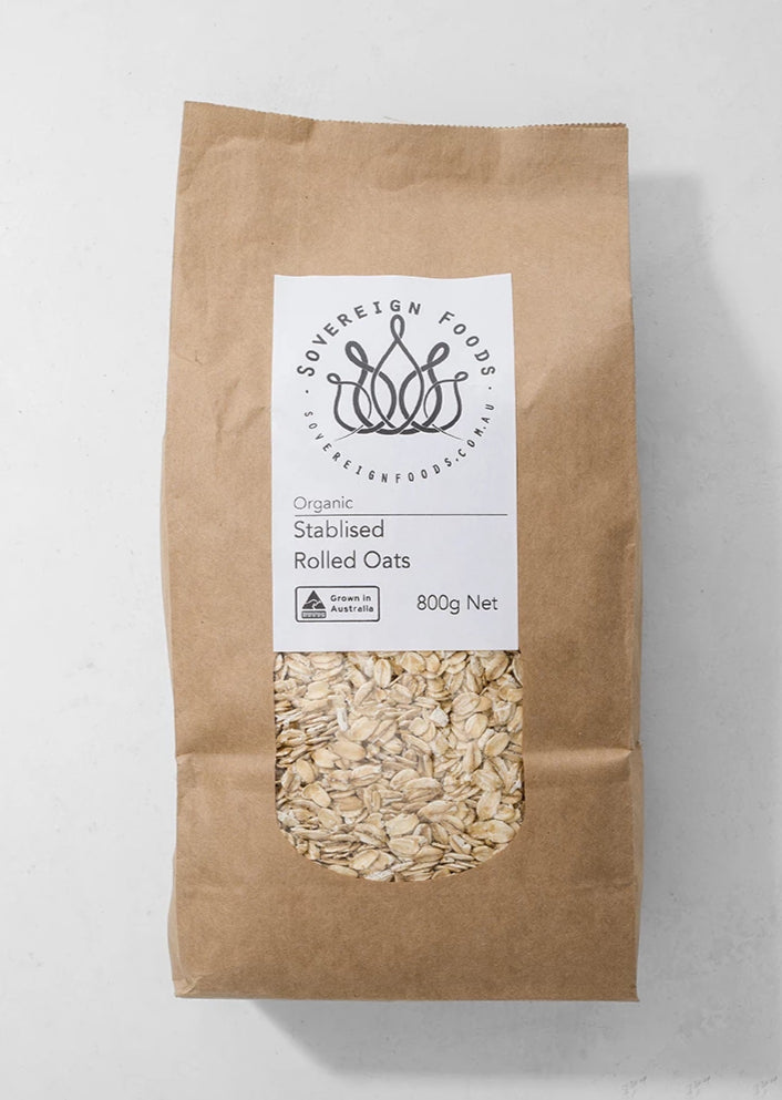 Oats, Rolled (Stabilised) - 800g