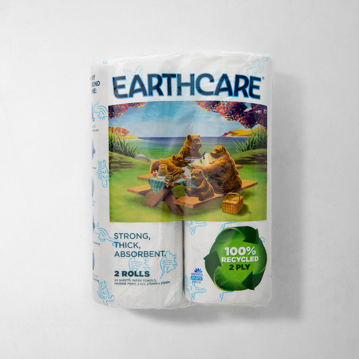 Paper Towel- 100% Recycled (2 Pack)
