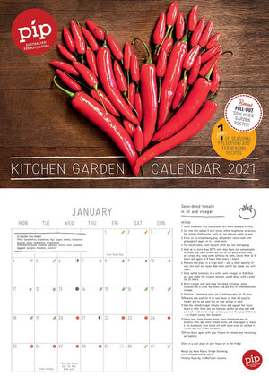 Pip Kitchen Garden Calendar 2021