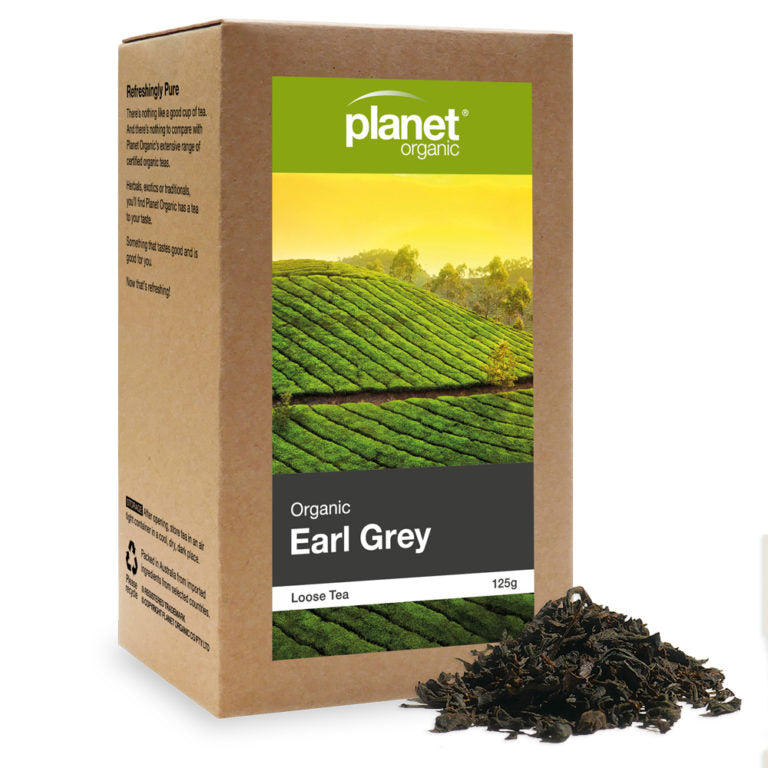 Planet Organic Organic Earl Grey Tea Loose Leaf 125g