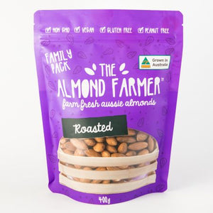 Almonds, Roasted Insecticide Free - 400g