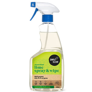 Spray and Wipe, Lime - 500mL