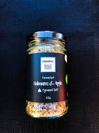 Fermented Habanero & Apple Pyramid Salt - 62gm