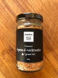 Fermented Cayenne & Watermelon Pyramid Salt - 62gm