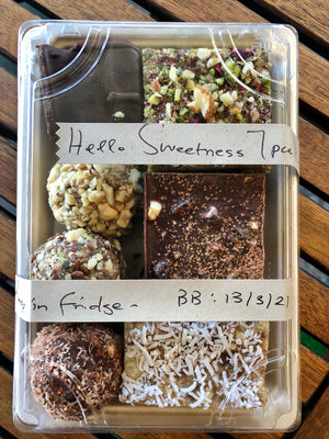 Raw Treats, Mixed - 7 pack