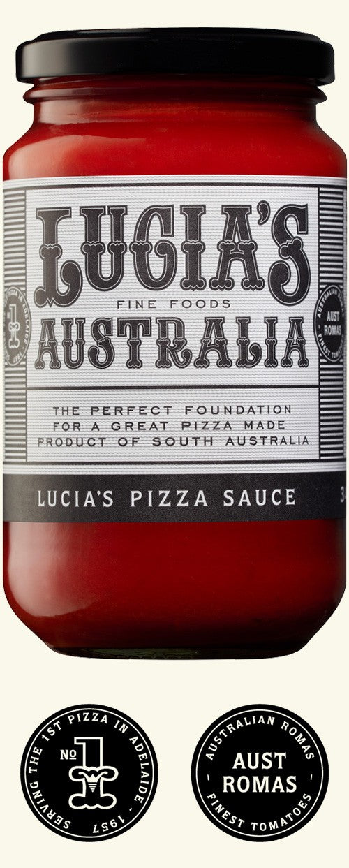 Pizza Sauce, Lucia's - 340g