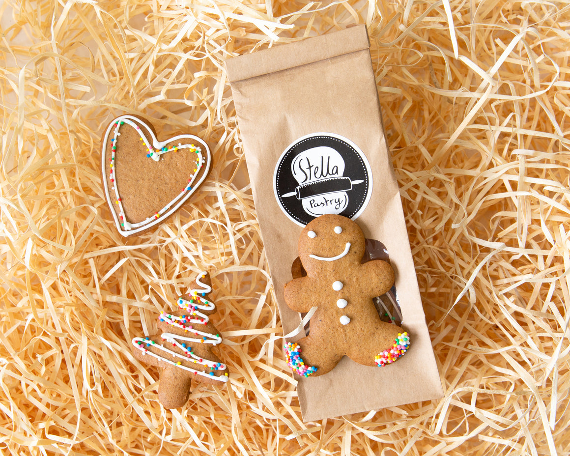 Christmas Ginger Bread - 4 pack