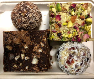 Raw Treats, Mixed - 4 pack