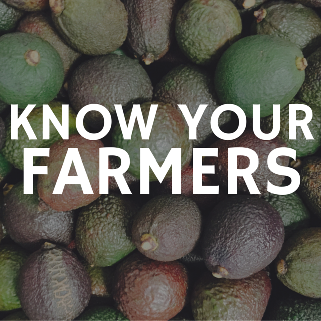 Know your farmers