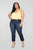 Burning Love II High Rise Boyfriend Jeans - Dark Denim