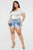 Beautiful Creation Denim Shorts - Light Wash
