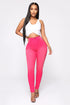 You Oughta Know High Rise Skinny Jeans - Pink