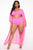 Come On To Me Sunsuit Set - Neon Pink