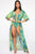 Sound The Waves 2 Piece Sunsuit - Green/Combo