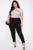 Dangerous In Love Skinny Jeans - Black