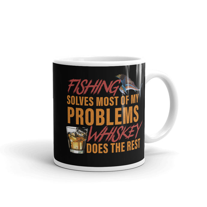 Fishing-Whiskey Mug