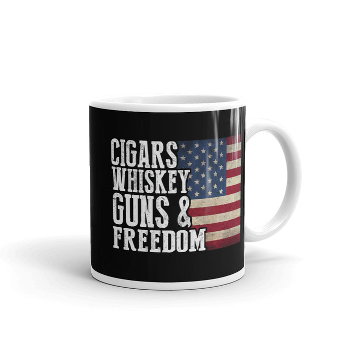 Guns and Freedom Mug