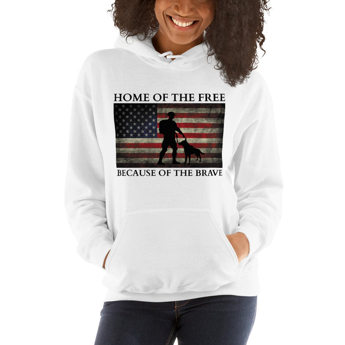 Home-of-the-free Women's Hooded Sweatshirt