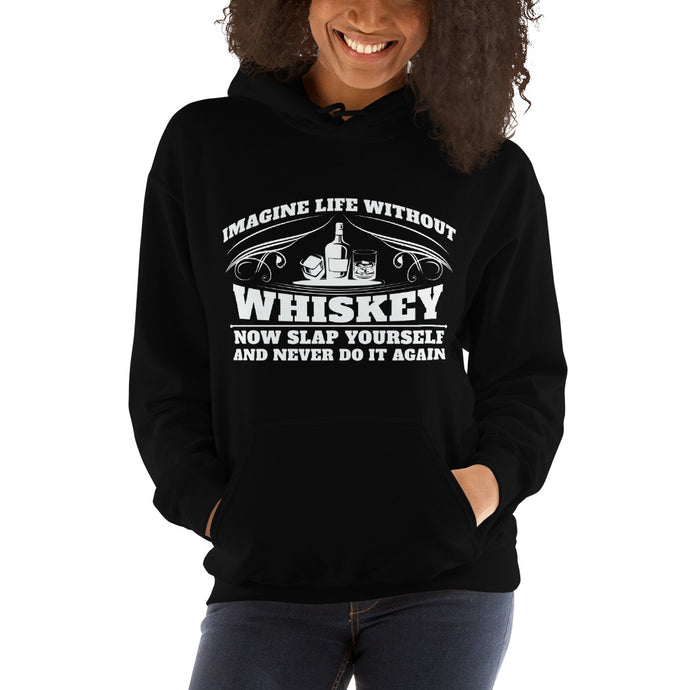 Without-Whiskey-Women's-Hooded Sweatshirt